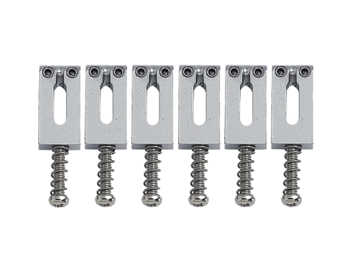 GOTOH S22 guitar bridge saddle set (CR)