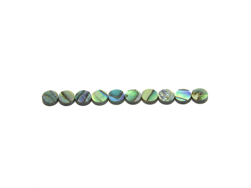 Abalone dot inlays set (6mm)