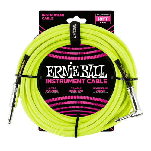 ERNIE BALL 6085 guitar cable (5,49m)