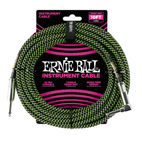 ERNIE BALL 6077 guitar cable (3,05m)