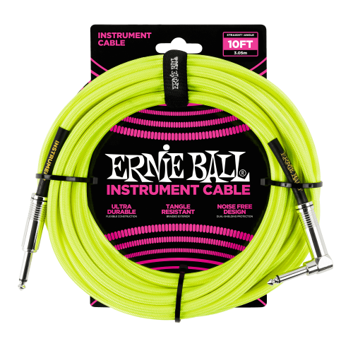 ERNIE BALL 6080 guitar cable (3,05m)