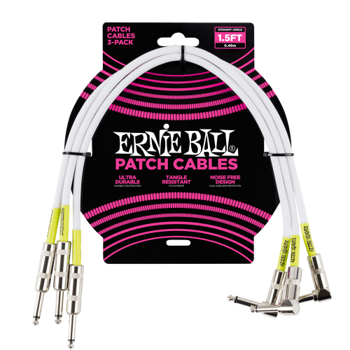 ERNIE BALL 6056 patch cable set (46cm)