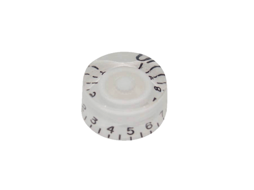 BOSTON KW-114 guitar speed knob (WH)