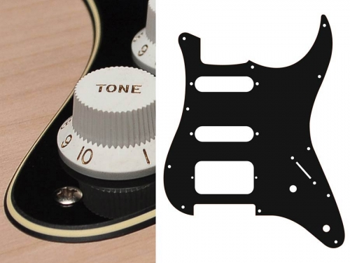 BOSTON ST-322 SSH guitar pickguard (BC)