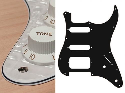 BOSTON ST-422 SSH guitar pickguard (PWW)