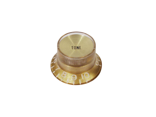 BOSTON KG-134-TTop Hat Reflector guitar knob (GD)