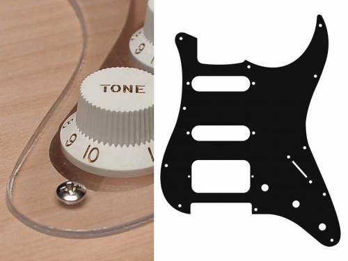 BOSTON ST-123 SSH guitar pickguard (TR)