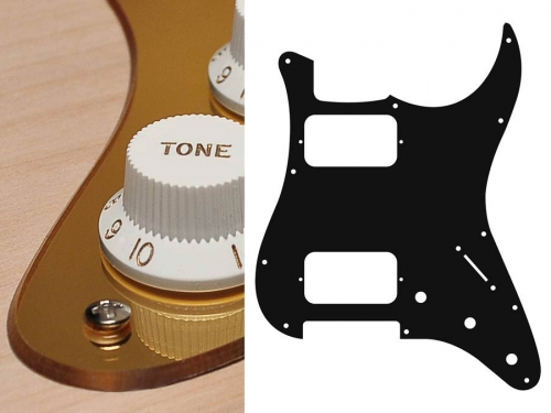 BOSTON ST-233 HH guitar pickguard (MRG)