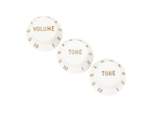 FENDER 0992035000 set of knobs (WH)