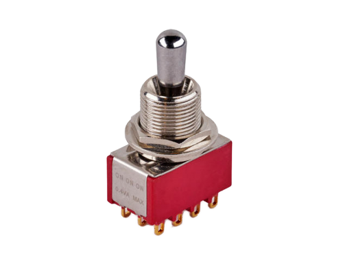 MEC 80019 4PDT on-on-on maxi toggle switch (CR)