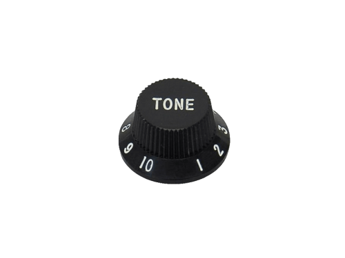BOSTON KB-1726-T ST-style guitar knob (BK)