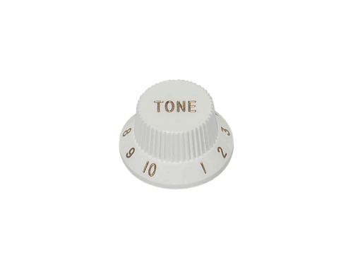 BOSTON KB-244-T ST-style guitar knob (WH)
