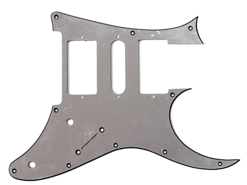 IBANEZ pickguard for RG350DX (SILV)