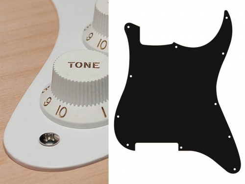 BOSTON ST-100 guitar pickguard (WH)