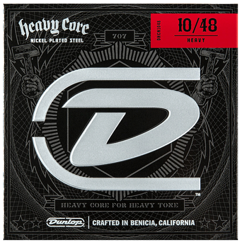 DUNLOP Heavy Core strings (10-48)