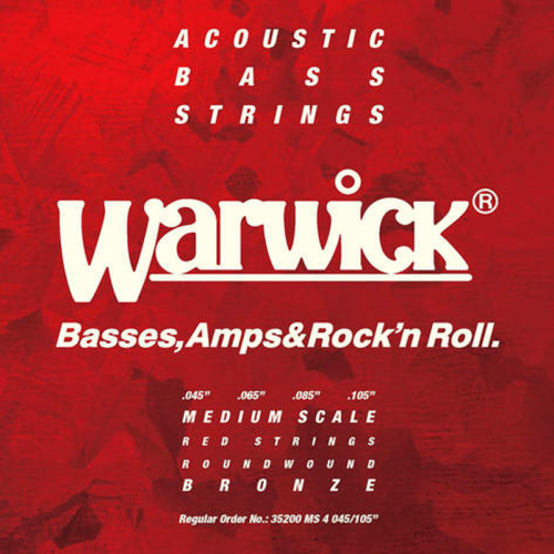 WARWICK MS acoustic bass strings (45-105)