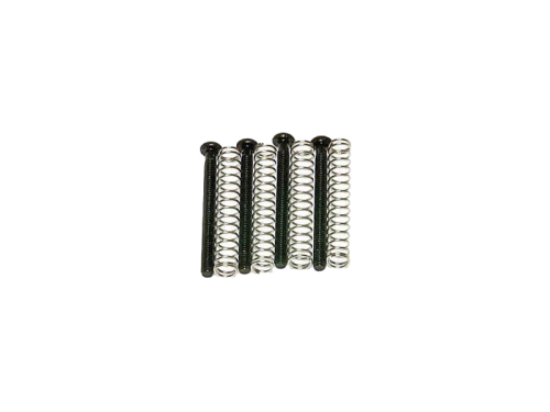 VPARTS HMS-IS inch humbucker mounting screws & springs (BK)