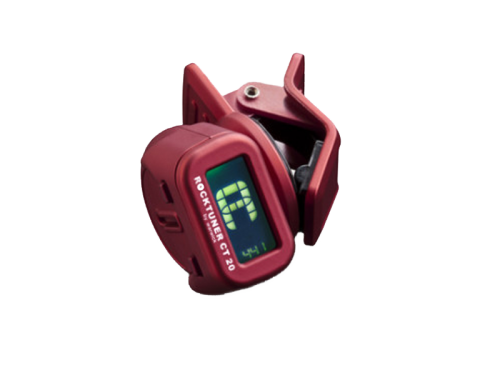 ROCKTUNER CT 20 RED chromatic clip-on tuner