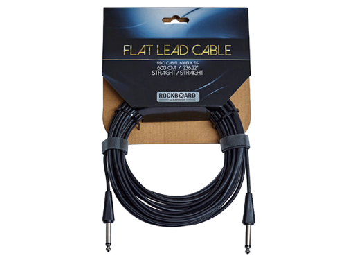 ROCKBOARD Flat Lead SS guitar cable (6,0m)