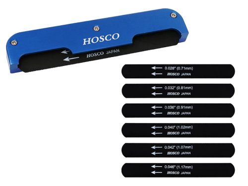 HOSCO H-NF-GC classical guitar nut file set