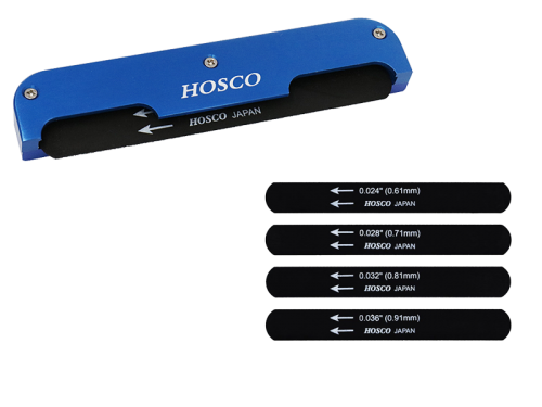 HOSCO H-NF-UK ukulele nut file set