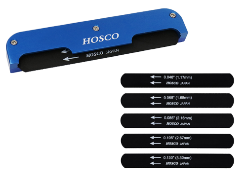 HOSCO H-NF-EB bass guitar nut file set