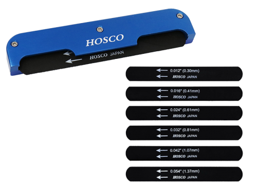 HOSCO H-NF-AG acoustic guitar nut file set