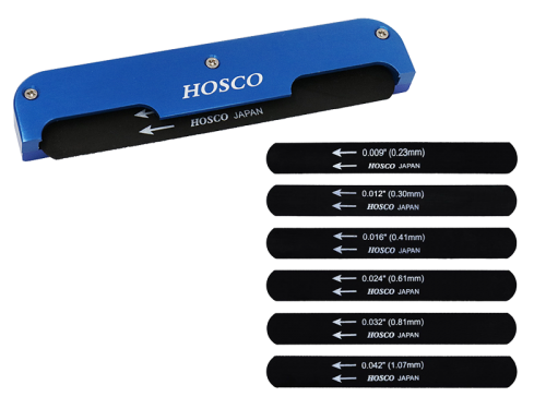 HOSCO H-NF-EG009 electric guitar nut file set
