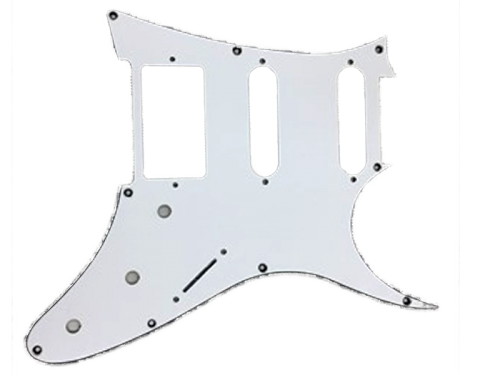IBANEZ 4PGG025R-WH AT10 SSH pickguard