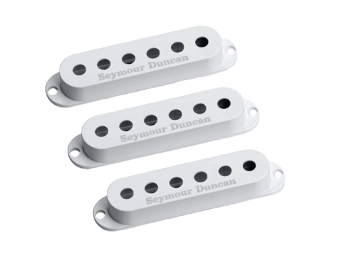 SEYMOUR DUNCAN Logo Cover Set (WH)