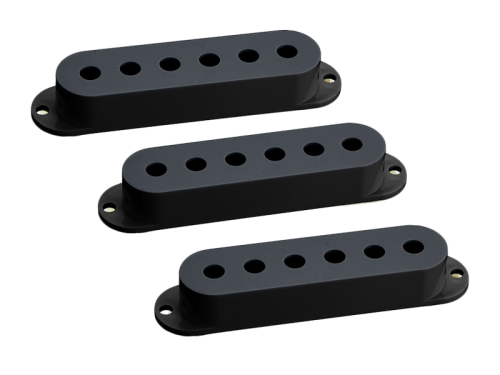 HOSCO OD-ST single-coil pickup cover set (BK)