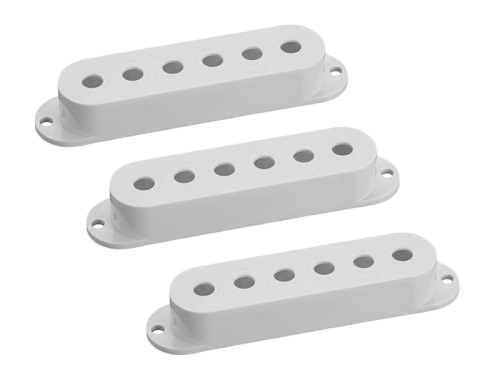 HOSCO OD-ST single-coil pickup cover set (WH)