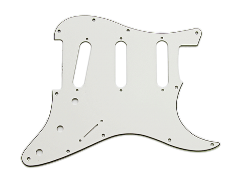 VPARTS PG-S1 ST-style pickguard (WH)