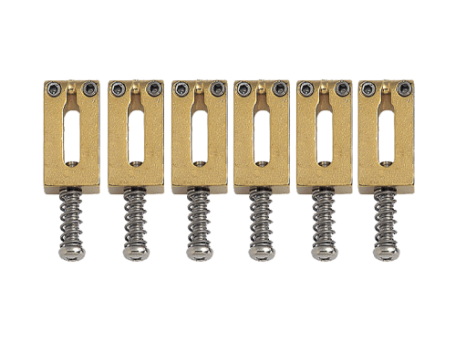 GOTOH S12 guitar bridge saddle set (GD)