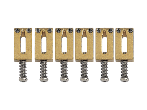 GOTOH S102 guitar bridge saddle set (GD)