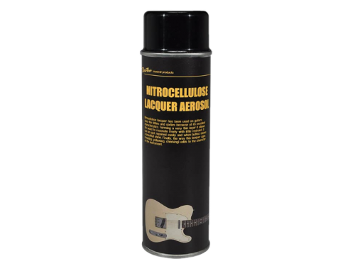 BOSTON nitrocellulose lacquer aerosol (transparent satin)