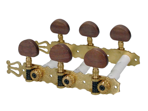 Classical guitar tuners BOSTON 130-SB (brass)