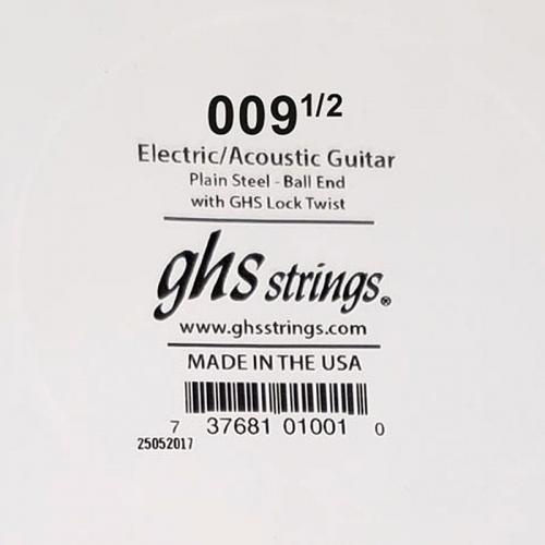 GHS Boomers plain single string 009 1/2