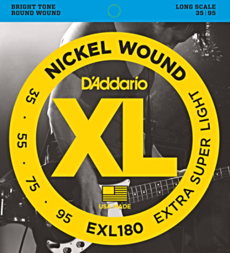 D'ADDARIO XL Nickel Wound EXL180 (35-95)