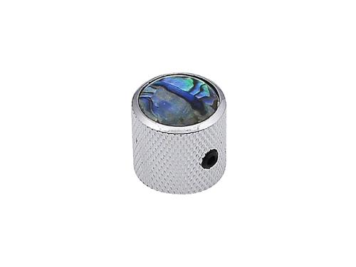 Boston dome knob with abalone inlay KCH-237