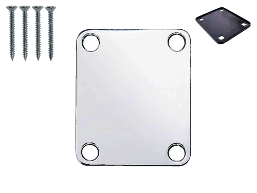 VPARTS NP-01S neck plate with screws (CR)