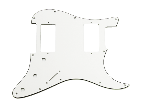 VPARTS PG-S4 ST-style pickguard (WH)