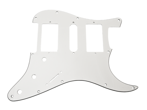 VPARTS PG-S3 ST-style pickguard (WH)