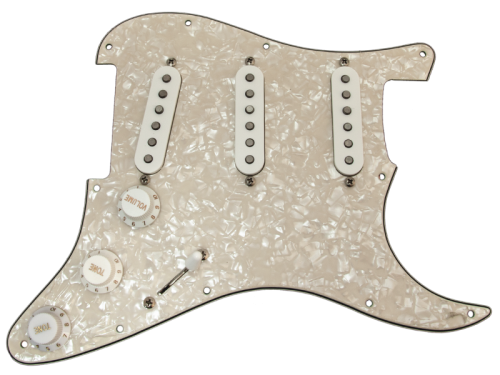 Loaded pickguard TONERIDER Classic Blues (VWP)