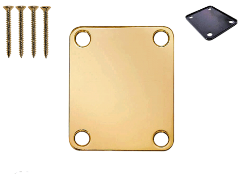 VPARTS NP-01S neck plate with screws (GD)