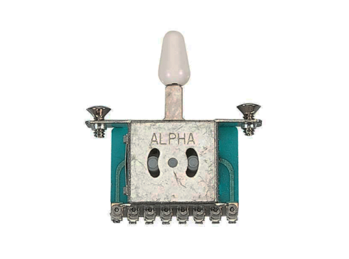 ALPHA 5-Way Lever Switch (WH)