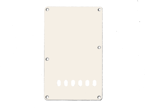 VPARTS PB-S3 ST-style backplate (ADWH)