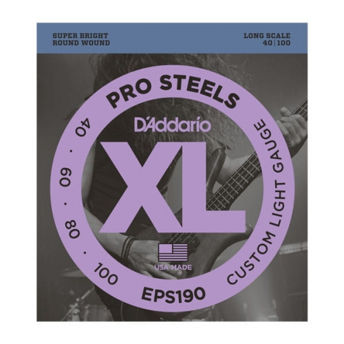 D'ADDARIO ProSteels EPS190 (40-100)