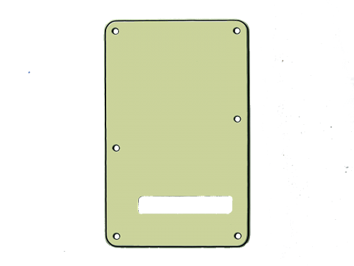 VPARTS PB-S1 ST-style Backplate (MG)
