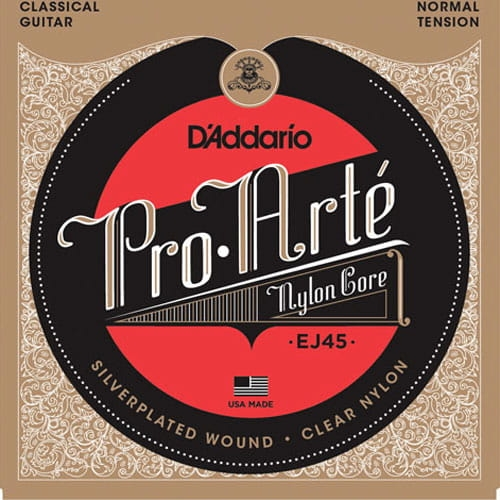 D'ADDARIO Pro-Arté Nylon Core EJ45 Normal